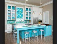 Mavi Mutfak Rengi