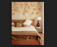 Sonbahar Yatak Odası Dekorasyonu
