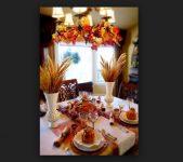 Sonbahar Yemek Odası Dekorasyonu