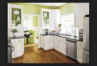 Yeşil Beyaz Mutfak Rengi