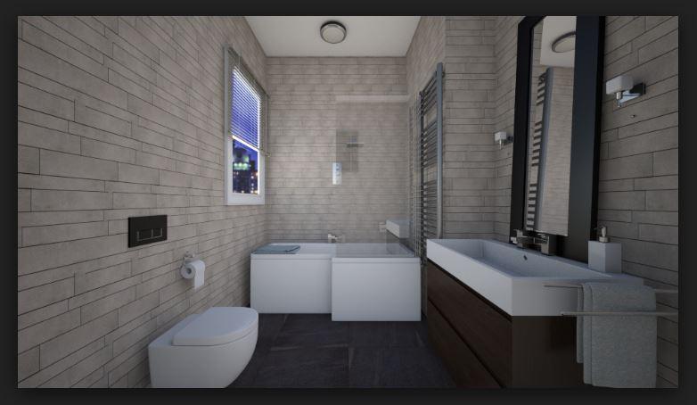 Banyo Uzun Lavabo Modeli