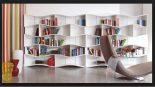 2017 Kitaplık Tasarımları ve dekorasyon Fikirleri