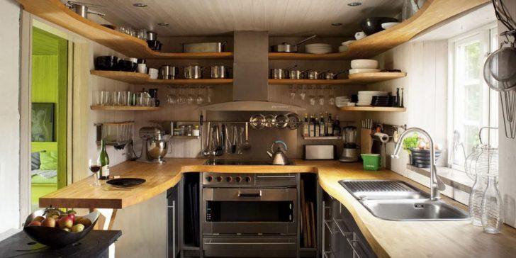 Küçük Mutfak Dekorasyonları 2017