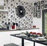 2017 Mutfaklar için Duvar Kağıt Modelleri
