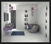 Banyo Dekorasyon Modelleri 2017