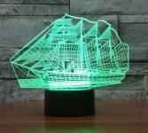 Gemi Şeklinde Gece Lambası Modeli