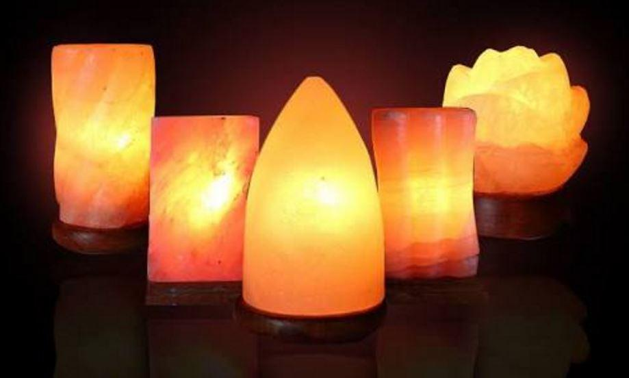 Himalaya Tuzu Doğal Gece Lambası Modelleri