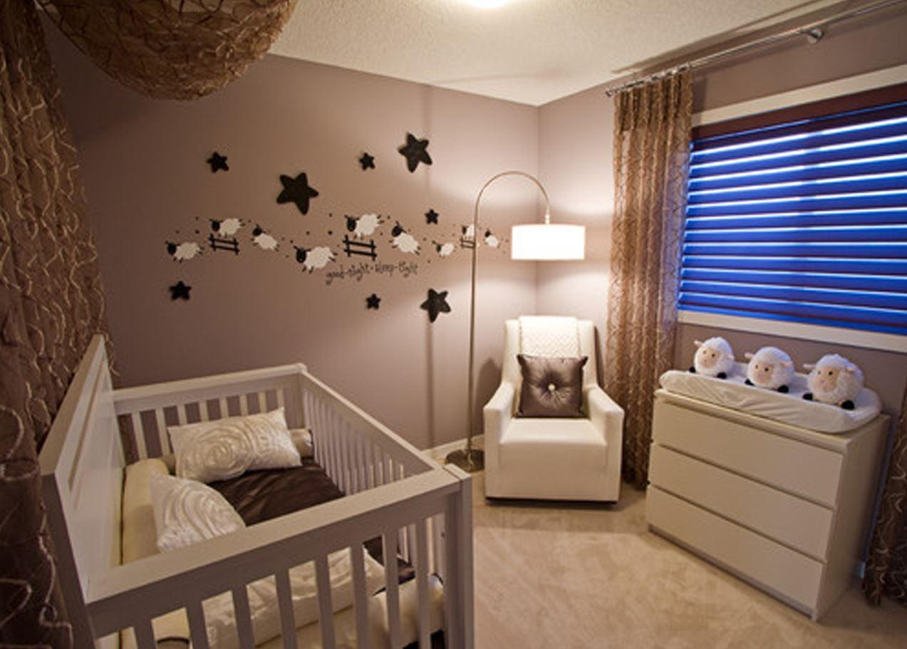İdeal Küçük Bebek Odası Dekorasyonları 2017