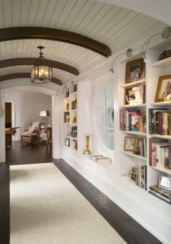 Kitaplık Koridor Tasarımları