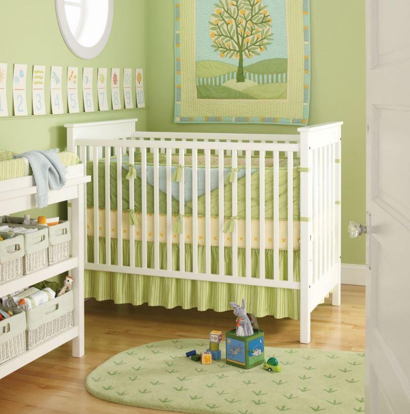 Küçük Bebek Odası 2017 Dekorasyon Örnekleri