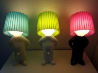 Renkli 3 Adam Gece Lambası Modelleri