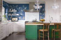Retro Mutfak Duvar Kağıdı