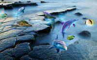 Suya Aşınmaya Dayanıklı Banyolara Özel Duvar Kağıtları
