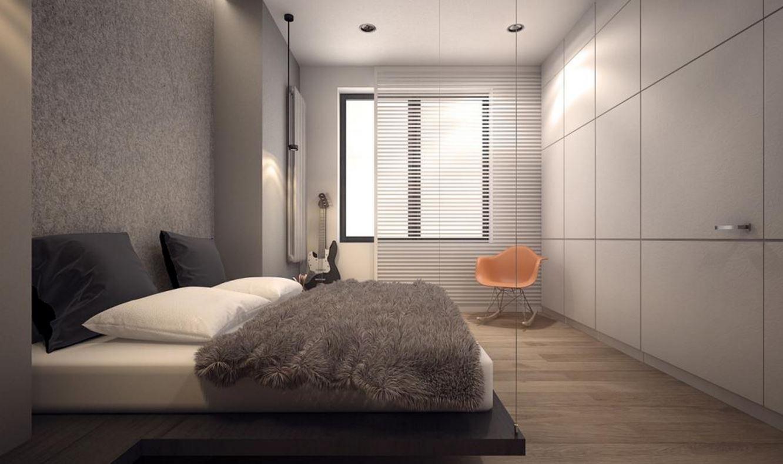 Küçük Fakat Büyük Gösterilebilen Yatak Odası Dizaynları