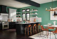 Mutfaklar için 2017 Trend Boya Rengi Yeşil