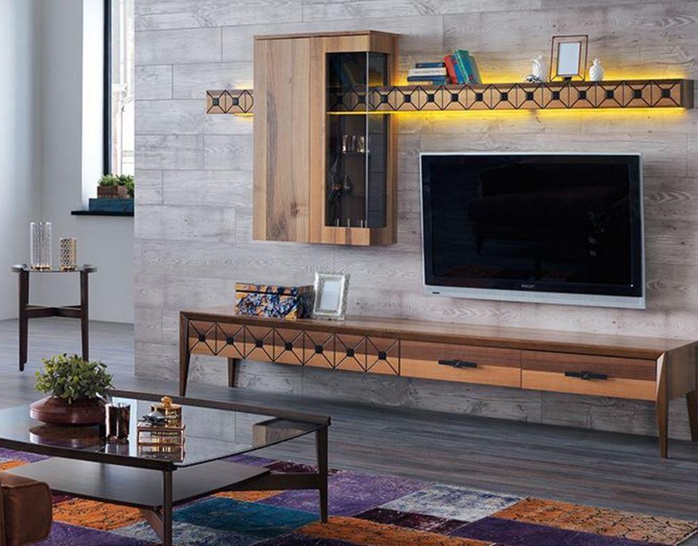 Rustik Dekorasyon Nills TV Unitesi Modeli 2017