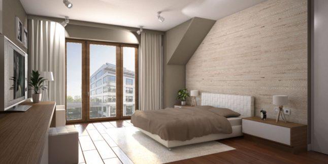 Dekoratif 2017 Yatak Odası Dekorasyonları