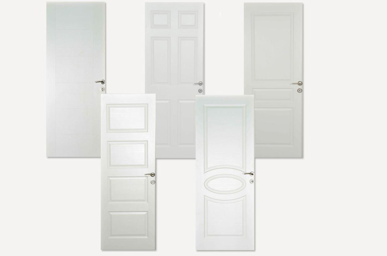 Koçtaş Amerikan Panel Kapı Kanadı 87x203 cm Madrid Panel Kapı Kanadı