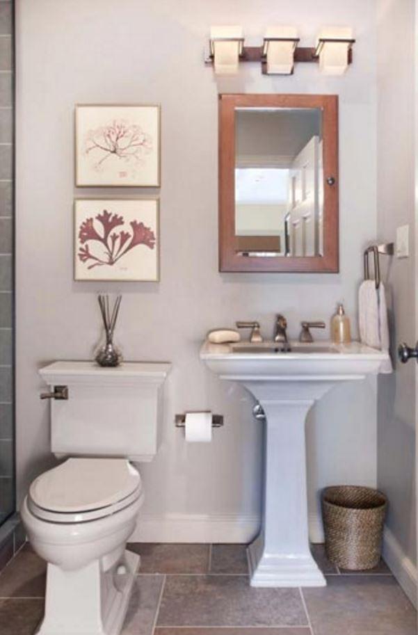 Küçük Banyo Tasarımı 2017 Örnek