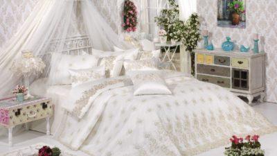 Elart  Gösterişli Yatak Örtüsü Modelleri