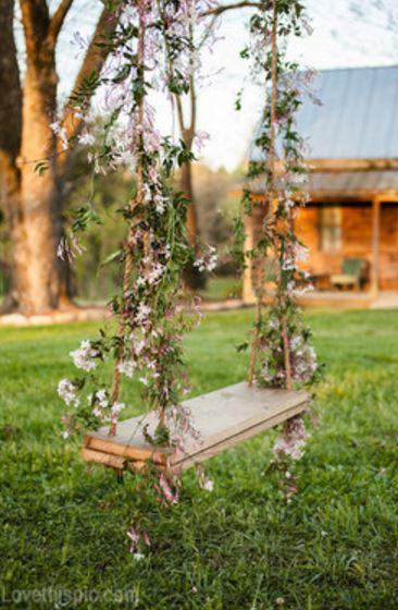Romantik Bahçe Salıncakları
