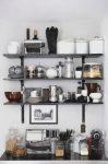 Dekoratif Mutfak Rafları