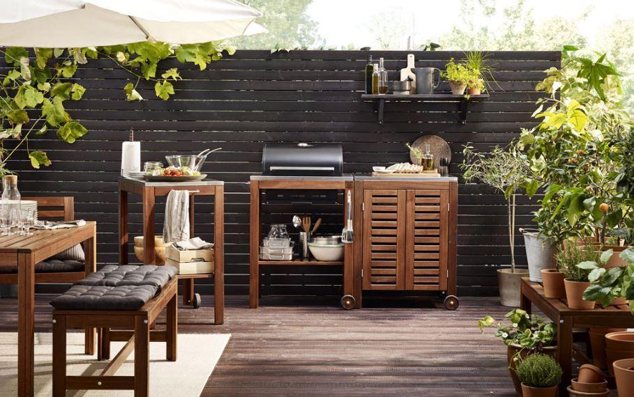 İkea Bahçe Mobilyaları