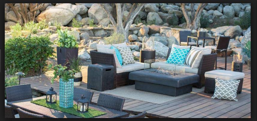 ikea bahçe koltuk dekorları