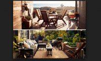 ikea balkon ve bahçe mobilyaları