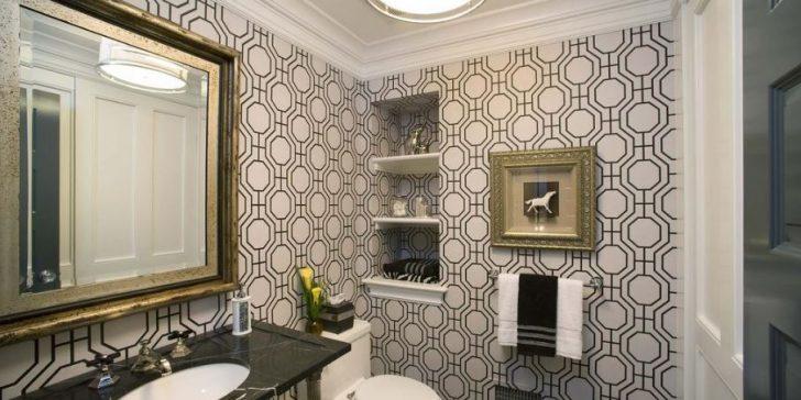 Banyolar İçin Duvar Kağıdı Modelleri