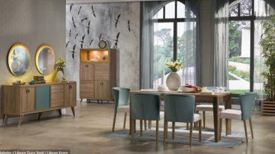 Bellonadan Yeni Moda Yemek Odaları