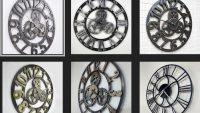 Sıradışı Dekoratif Büyük Duvar Saati Modelleri 2017