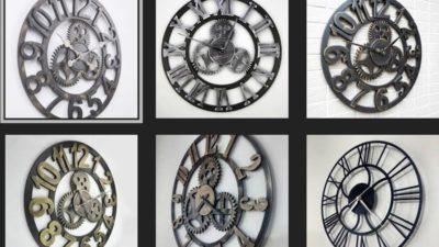 Sıradışı Dekoratif Büyük Duvar Saati Modelleri