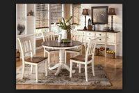 Yuvarlak Mutfak Masası Retro Modeller