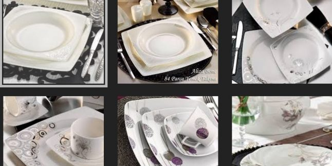 Kütahya Porselen Yemek Setleri 2017 2018