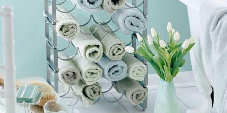 Banyolarda Yeni Havlu Saklama Alanları