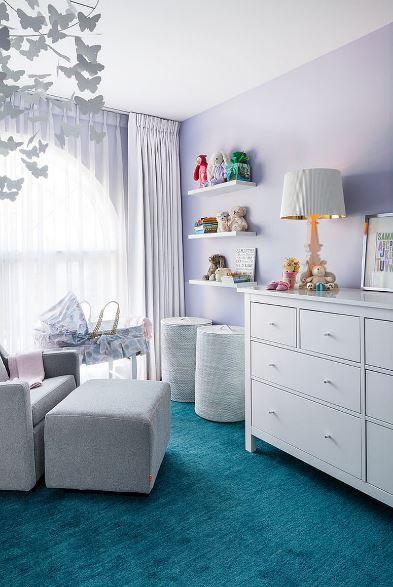 Bebek Odalarında Lila Rengi