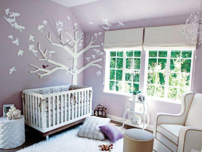 Lila Bebek Odaları