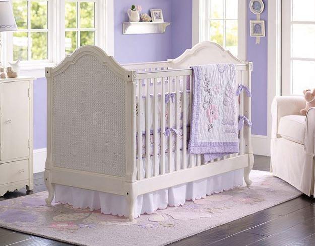 Lila Bebek Odası Dizaynı