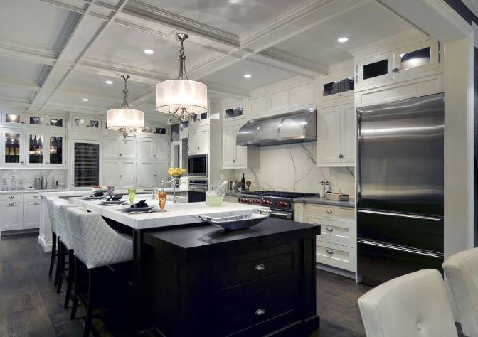 Lüks Mutfak Dekorasyonları
