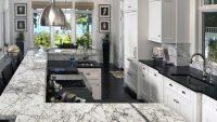 Mermer Tezgahlı Mutfak Dekorasyonu