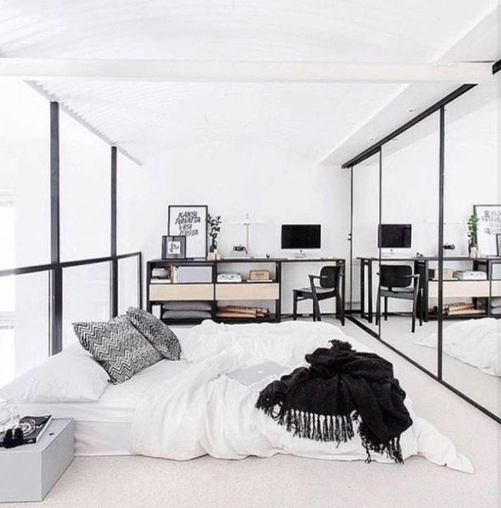 Minimalist Aydınlık Tasarımlı Yatak Odaları