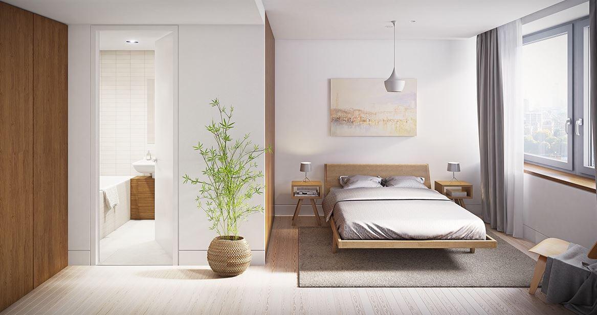 Minimalist Yatak Odası Dizaynları