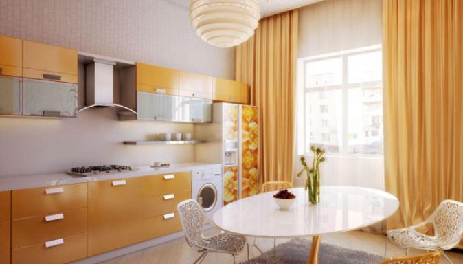 Mutfak Dekorasyonlarında Kullanılan Perde Modelleri