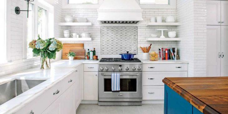 Mutfak Dekorasyonlarında Beyaz Renk Etkisi