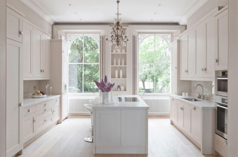 Beyaz Renkli Mutfak Modelleri