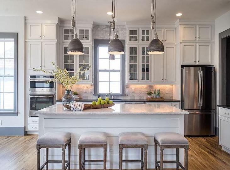 Beyaz Renkli Mutfaklar