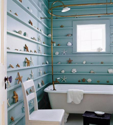 Deniz Temalı Banyo Dekorasyonları