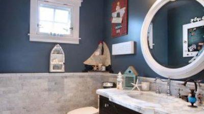 Deniz Mavisi Banyo Dekorasyonları