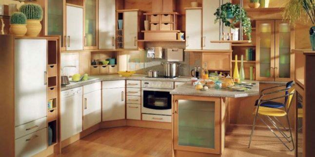 Ahşap Mutfak Dekorasyonu Fikirleri
